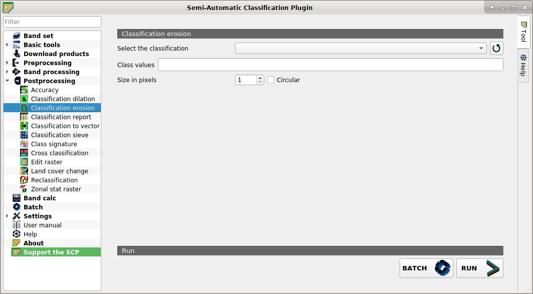 4  Main Interface Window — Semi-Automatic Classification Plugin 6 3