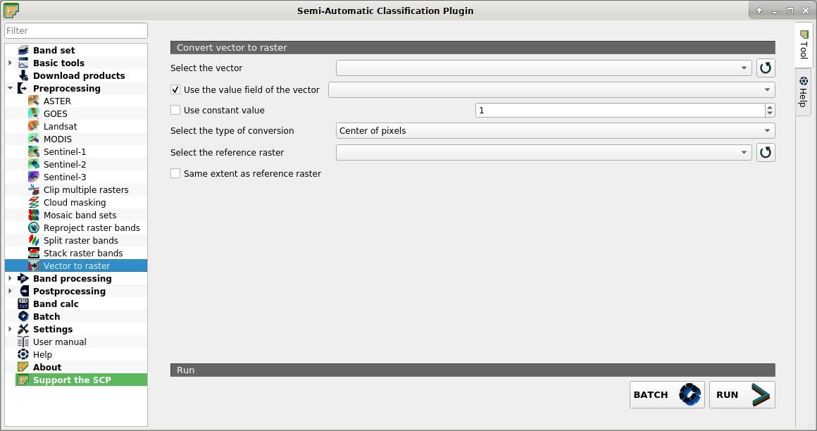 4  Main Interface Window — Semi-Automatic Classification