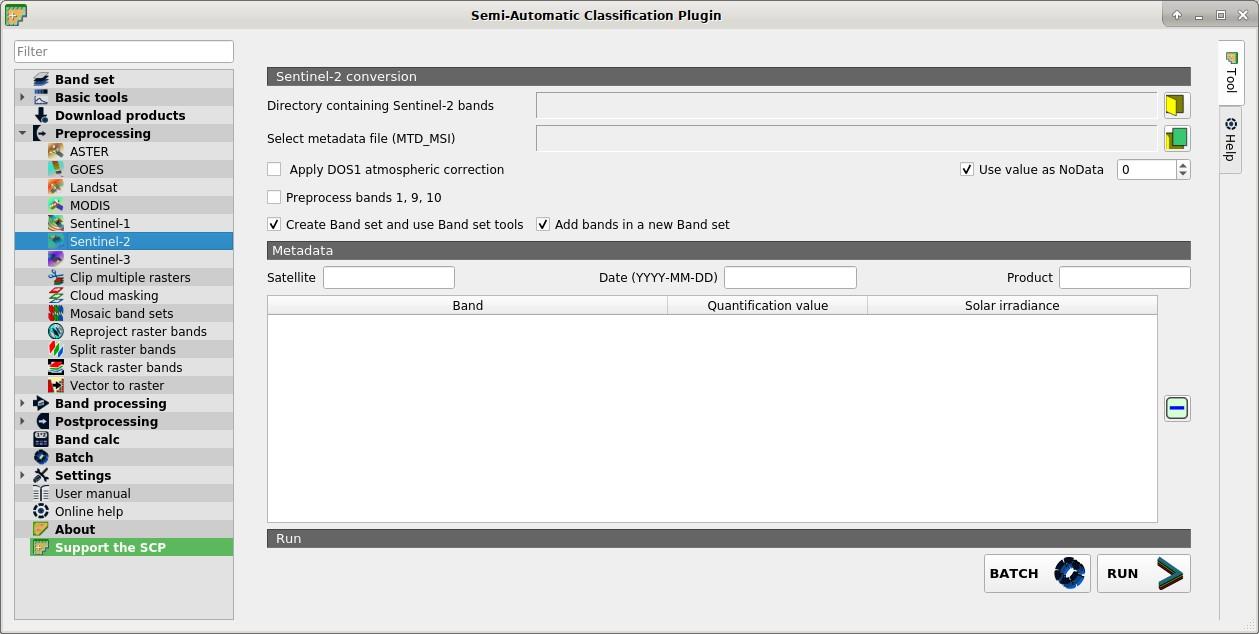 4  Main Interface Window — Документация Semi-Automatic
